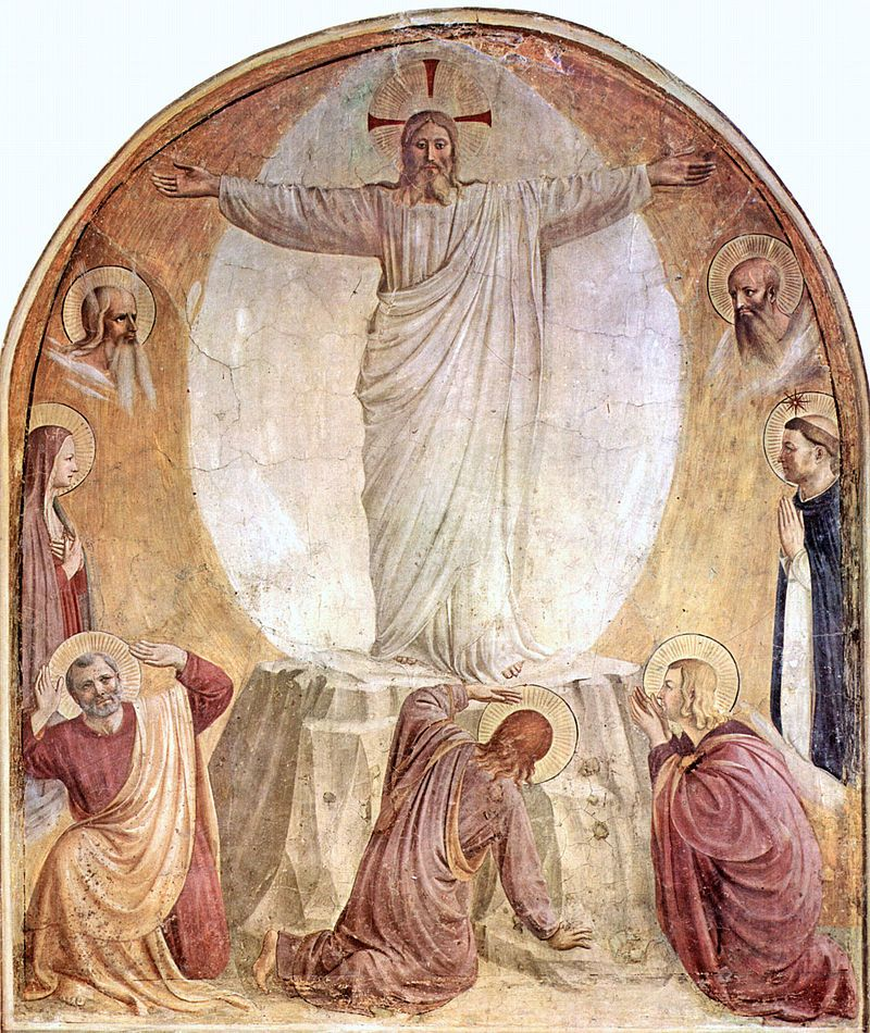 Fra Angelico (1395-1455), The Transfiguration