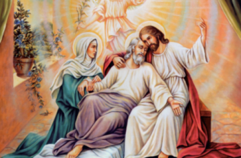 Can there be a better passage to eternal life than between the arms of Jesus and Mary