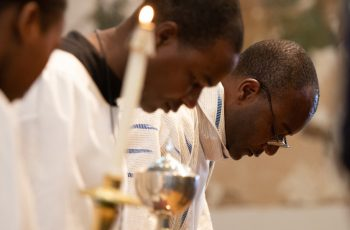 Why Catholics bow their heads at the name of Jesus